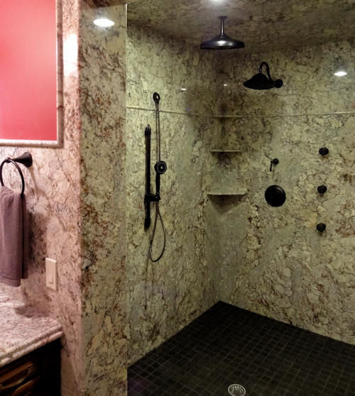 Granite Shower