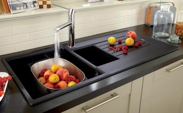 contemporary-kitchen-sinks-granite-composite-sinks-ideas-black ...