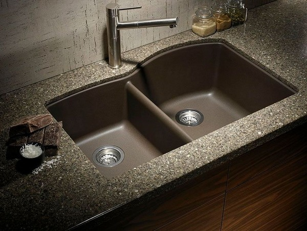 granite-composite-sinks-ideas-modern-kitchen-sink-design-with-two ...